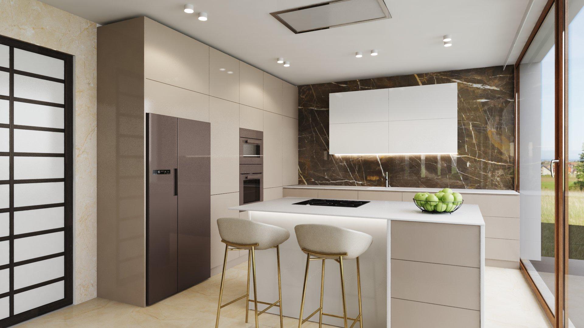 Ako si zariadiť krásnu a priestorovo nenáročnú kuchyňu